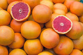 Ripe blood oranges for sale — Stock Photo