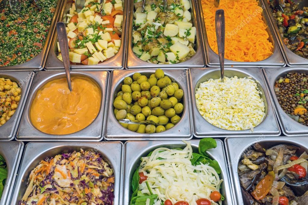Фото салат-бара