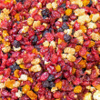 Mixed dried soft fruit at market — Stock Photo #39907097
