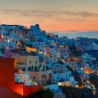 Sunrise over Oia, Santorini — Stock Photo #40377637