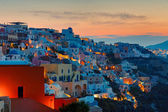 Sunrise over Oia, Santorini — Stock Photo