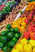 Different kinds of sweet pepper — Stock Photo