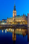 The townhall of Hamburg — Stock Photo