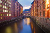 Part of the Speicherstadt — Stock Photo