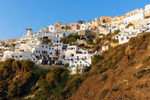 The village of Oia — Stockfoto