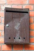 Old rusty mailbox — Stock Photo