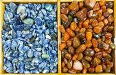 Background of semiprecious stones — Stock Photo