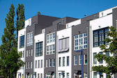 Modern terraced housing — Stock Photo