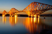 The Forth rail bridge — Stock Photo