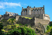 The Edinburgh castle — Stock Photo