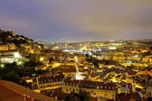 Lisbon at night — Stock Photo