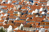 Rooftops in Nazare, Portugal — Photo