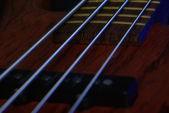 Detalles de la guitarra — Foto de Stock