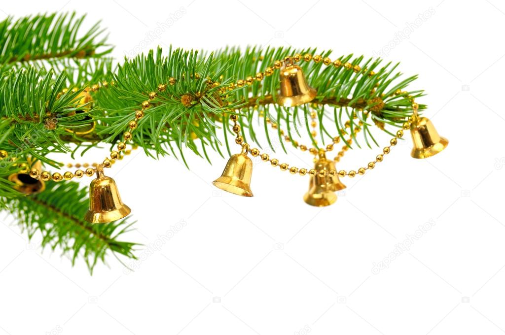 Christmas decoration isolated on a white background  Stock Photo #13188701