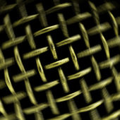 Metallic lattice — Stock Photo