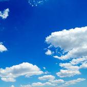 Cloudy sky — Stock Photo