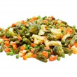 Foto Stock: Frozen vegetables