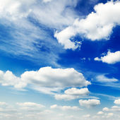 Sky covered by clouds — Stock Photo