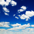 Cloudy sky — Stock Photo