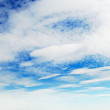 Stock Photo: White clouds