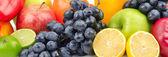 Composizione di frutta e verdura — Foto Stock