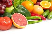 Färsk frukt och grönsaker — Stockfoto