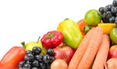 Set fruit and vegetables — Foto Stock