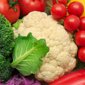 Vegetables background   — 图库照片