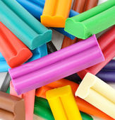 Colorful plasticine  — Stock Photo