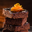 Chocolate Brownie — Stock Photo #20808805