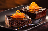 Chocolade brownie — Foto de Stock