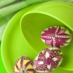 Easter eggs still-life — Stock Photo #2854804