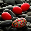 Romanian handmade decorated easter egg — Stock Photo #2855125