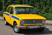 Sovyet polis arabası — Stok fotoğraf