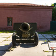 Soviet artillery gun — Stock Photo #12430892