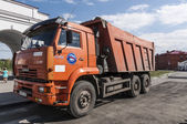 Russian Kamaz truck — Stock Photo