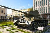 Legendariska sovjetiska stridsvagnen t-34 — Stockfoto
