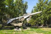 Soviet air defense missiles — Stock Photo