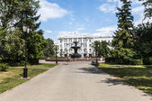 The fountain in Omsk — Foto Stock