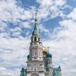 Stock Photo: Orthodox Cathedral in Omsk
