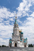 Orthodox Cathedral in Omsk — Stock Photo