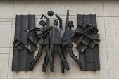 Sovjet-unie beeldhouwkunst — Stockfoto
