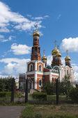 Orthodoxe Kathedrale in omsk — Stockfoto