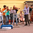 Street performers and musicians — Stock Photo #12650701