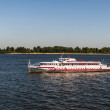 River passenger ship on Volga — Stock Photo #13559979