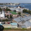 View from the top of Nizhny Novgorod — Stock Photo