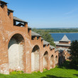Kremlin in Nizhny Novgorod — Stock Photo