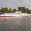 River passenger ship on the Volga — ストック写真
