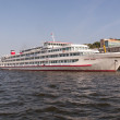 River passenger ship on the Volga - Foto Stock