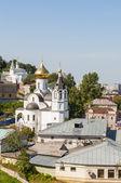 Вид с верхней части Нижнего Новгорода — Стоковое фото